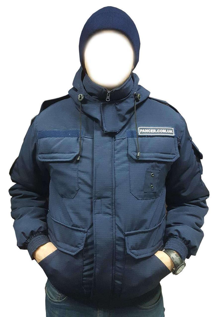 Бушлат для полиции синий -20 C Pancer