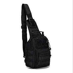 Рюкзак тактический EDC черный Pancer