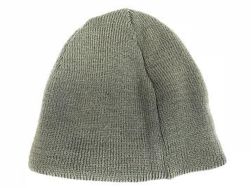 В'язана шапка олива бортик Pancer