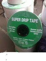 Лента для капельного полива Super drip 30СМ.(1000М)щелевая(корея)