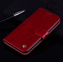 Чохол-книжка для Xiaomi Redmi 9 з силіконовим бампером і відділенням для карт тип №2 Колір Червоний