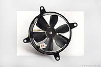 """Вентилятор радиатора   для максискутера 4T CH250   (в сборе с кожухом)   """"KOMATCU""""   (mod:A)"""
