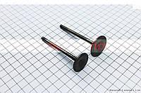 Клапана выпускной (30,3*78*5)+ впускной (26*77*5) к-кт 2шт для максискутера 250сс
