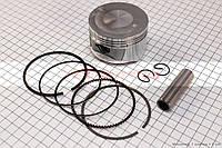 Поршень, кольца, палец к-кт для максискутера 250сс 72мм STD