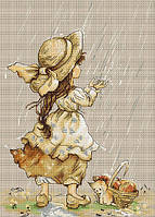"""Набор для вышивания крестом """"Luca-s"""" B1077 Летний дождь"""