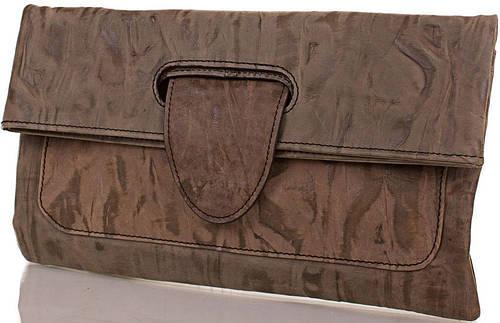 Уникальный женский кожаный клатч-трансформер ETERNO (ЭТЕРНО), кофейный, ET15006-2