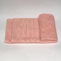 Полотенце махровое для лица M(45 X 70) персик