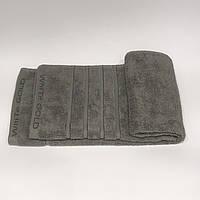 Полотенце махровое для лица M(45 X 70) серое