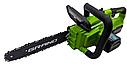 Цепная Аккумуляторная пила Grand АПЦ-18V, 2 аккумулятора, фото 4
