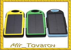 Сонячне портативний зарядний Power Bank 20000