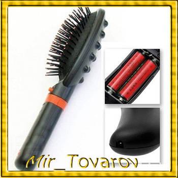 Гребінець-вібромасажер масажна гребінець Massage Hair Brush RM 709