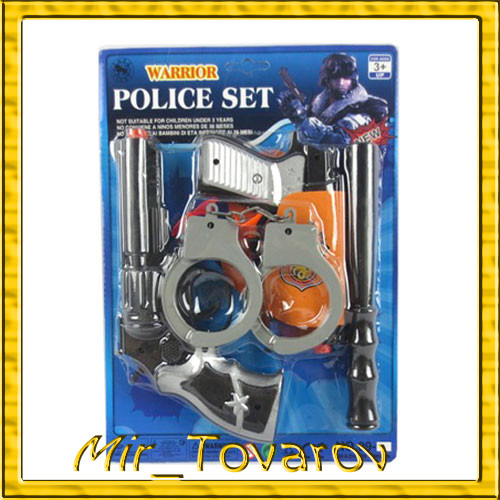 Игровой набор полицейского Police