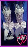Свадебные бокалы Roses 6547, фото 2