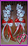 Весільні келихи Квіти любові, фото 2