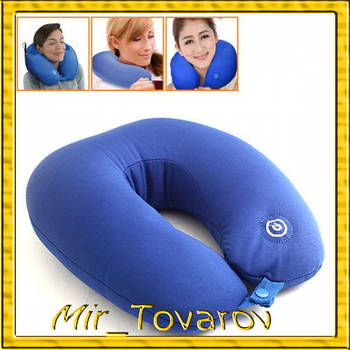 Масажна подушка Neck Massage Cushion - дорожня подушка