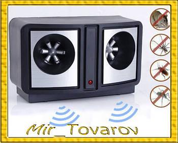 Електронний Відлякувач мишей, щурів і комах - DUAL SONIC PEST REPELLER
