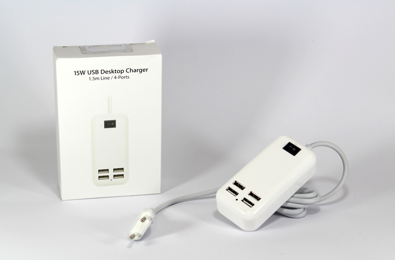 Адаптер на 4 USB  100