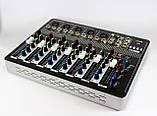Аудіо мікшер Mixer BT7000 7ch. 5, фото 2