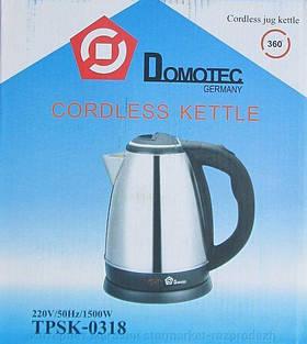 Чайник нерж. 1.8 л 1500Вт Domotec TPSK-0318