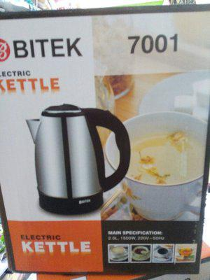 Чайник нерж. 2,0 л 1500Вт BITEK 7001