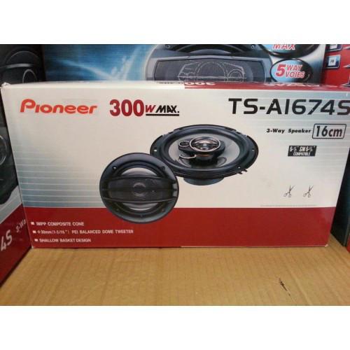Автомобильные колонки Pioneer TS-1674