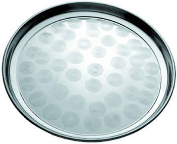 Піднос круглий нержавіючий Ø 300 мм (шт)