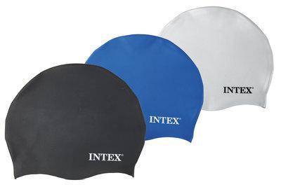 Шапочка для плавания силиконовая Intex 55991