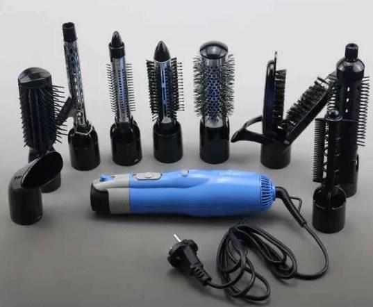 Воздушный стайлер, фен для волос (10 в 1) Gemei GM-4833