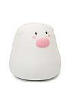 Детский ночной силиконовый светильник Свинка, фото 3