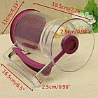 Диспенсер, ручной стакан-дозатор для жидкого теста блинов и наполнителей , фото 3