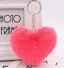 Мягкий брелок сердечко 6*8см, фото 2