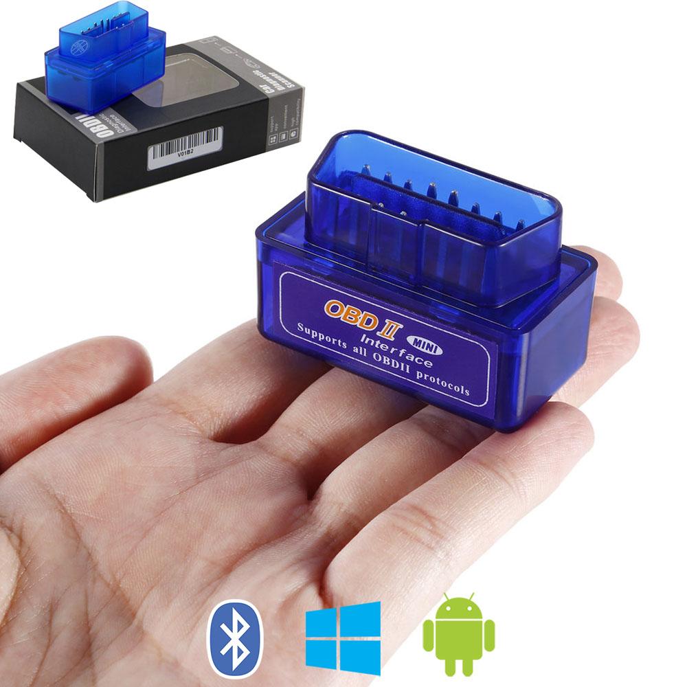 Автомобильный сканер OBD2 адаптер ELM327 mini Bluetooth