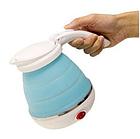 Электрочайник дорожный складной Kettle foldable travel electric, чайник электрический складной силиконовый, фото 2