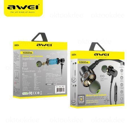 Наушники MDR X660BL + BT Awei, Беспроводные наушники, Bluetooth, MP3 наушники, Беспроводная гарнитура