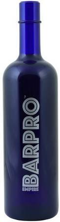 """Пляшка""""BARPRO""""для флейринга синого кольору H 295 мм"""