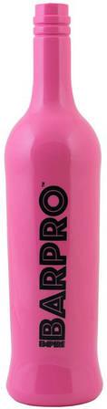 """Пляшка""""BARPRO""""для флейринга рожевого кольору H 300 мм"""