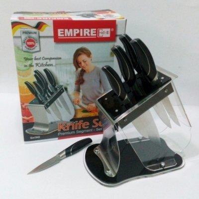 Ножи на подставке (набор 6 шт)
