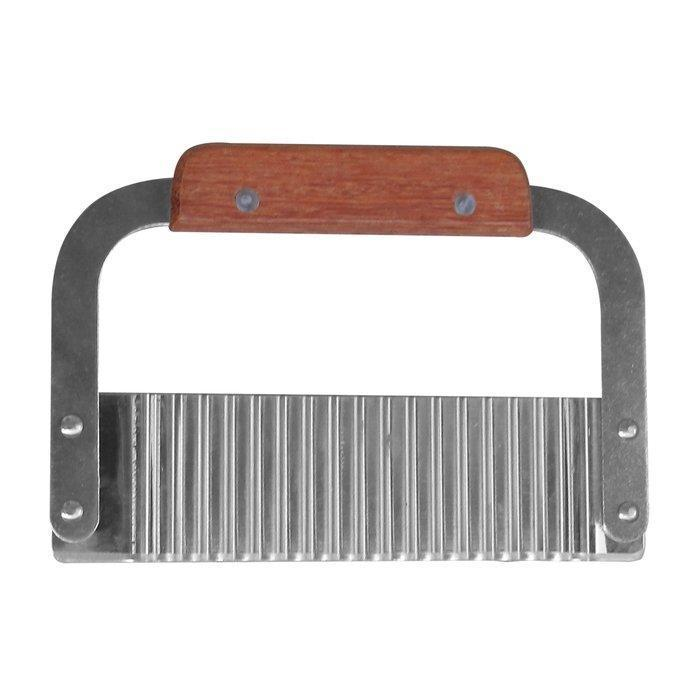 Шпатель резак карбовочный с деревянной ручкой (шт)