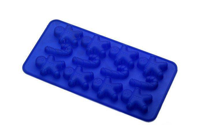 """Силиконовая форма""""Шоколад/Лед Человечки""""210*110*10 мм (шт)"""