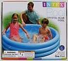 Детский надувной бассейн Crystal Blue Intex 58426 , фото 3