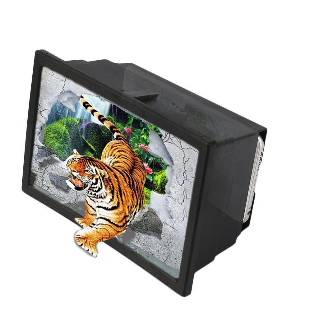 3D увеличитель экрана смартфона (складной, 8 дюймов)