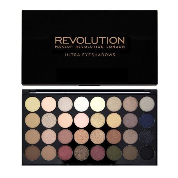 Палетка теней Revolution makeup, Flawless, 32 цвета