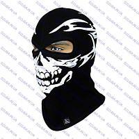 Мультифункциональная шлем-маска балаклава с рисунком Череп