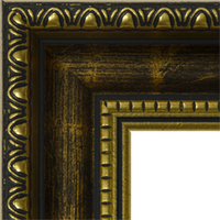 Багетная рама под заказ 3.380-F0094 metal matt (ширина профиля 30 мм). Для икон, картин, зеркал