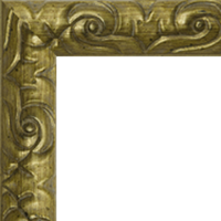 Багетная рама под заказ 290-100 (ширина профиля 26 мм). Для икон, картин, зеркал
