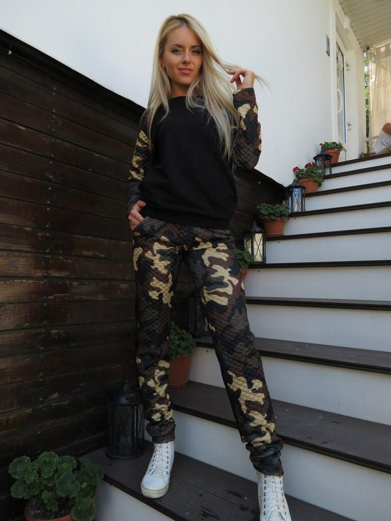 f4f014f8 Женский спортивный костюм камуфляж - ShopStyle магазин одежды от  производителя. в Одессе