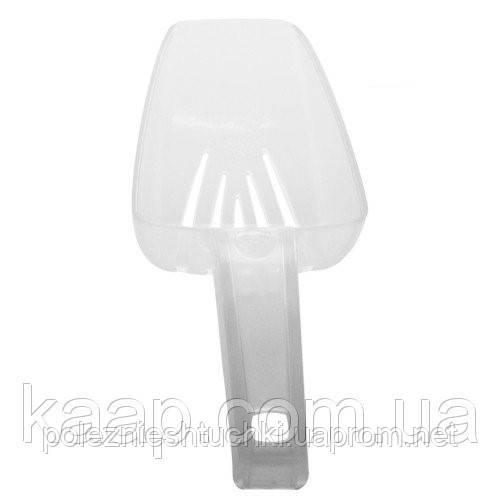 Совок для льда пластиковый 300 мл. белый, The Bars