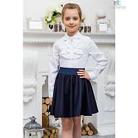 Блуза школьная для девочки (0023), ТМ Mychance 140 (10 лет) р. Белый
