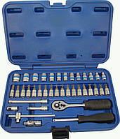 Набор инструментов 38 предметов, 1/4 дюйма, 6 граней, 4-14 мм, King Roy 038MDA