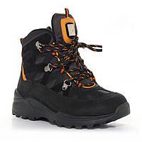 Демисезонные ботинки для мальчика, черные (1274-44-20B-02, 1274-45-20B-02), Мinimen (Минимен) 32 р. Черный